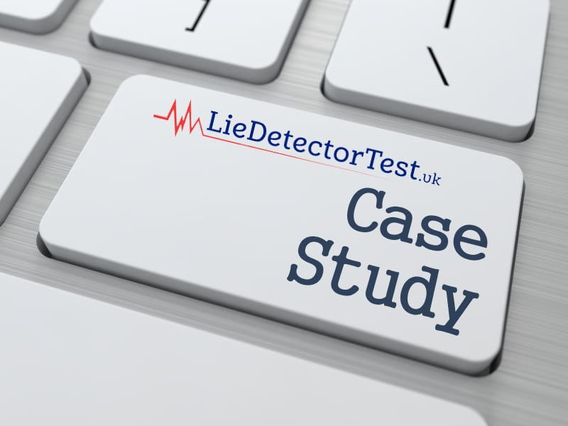 Lie detector test case study
