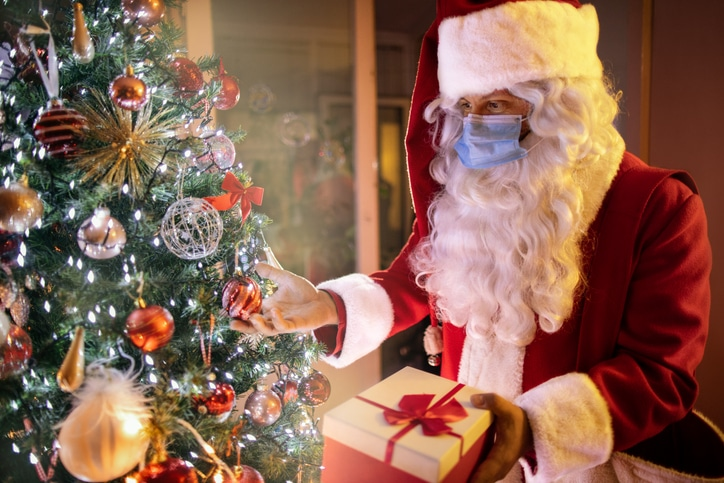 Lies we tell our children at Christmas, Covid-19 restrictions