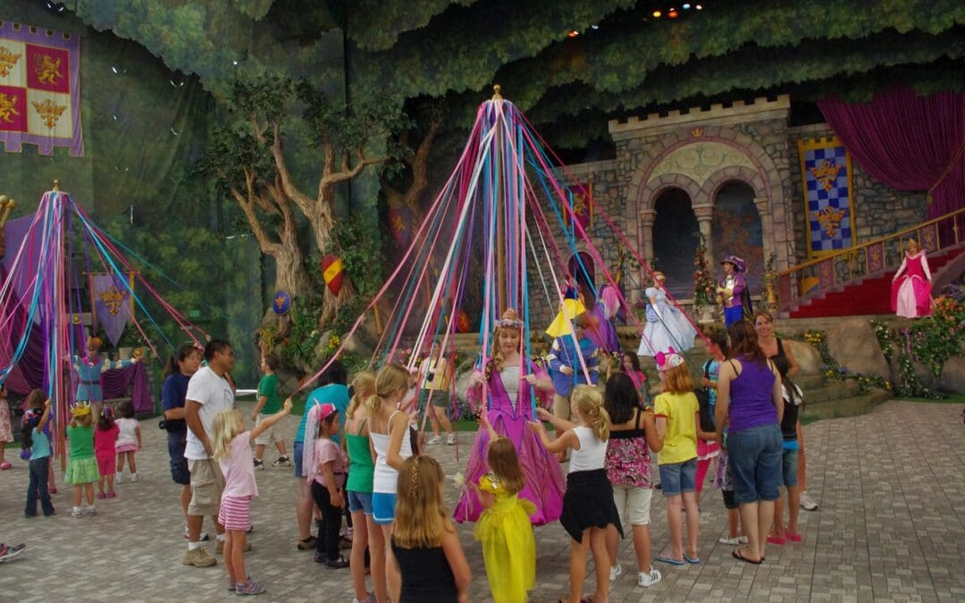 Is your Partner dancing round the Maypole with someone else?